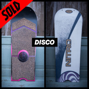 happy snag sowboard recycling upcycling disco