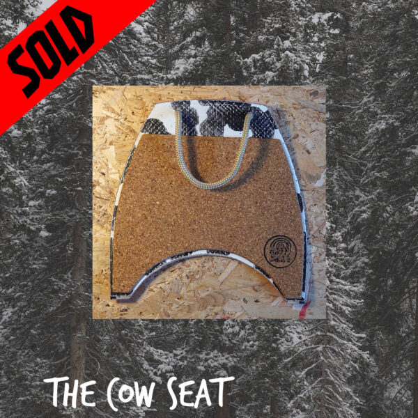 happy snag sowboard recycling upcycling cow seat